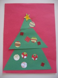 Christmas Tree Kids Craft