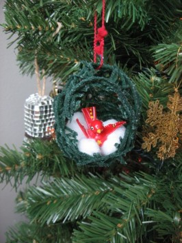 Nest Egg Ornament