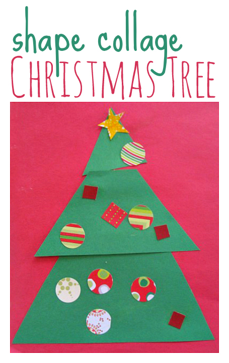Christmas tree craft no time for flash cards for Christmas crafts for pre schoolers
