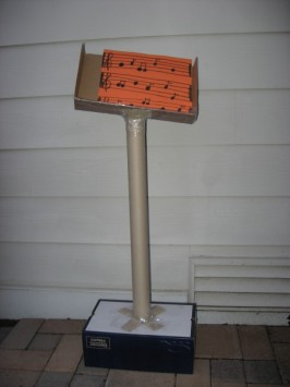 DIY Music Stand