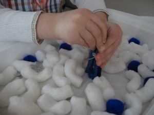 Winter Sensory Tub