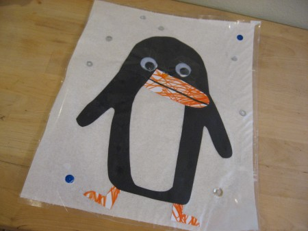 Kids Penguin Place Mat