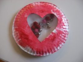 Valentine's Day Heart Shaker Craft!