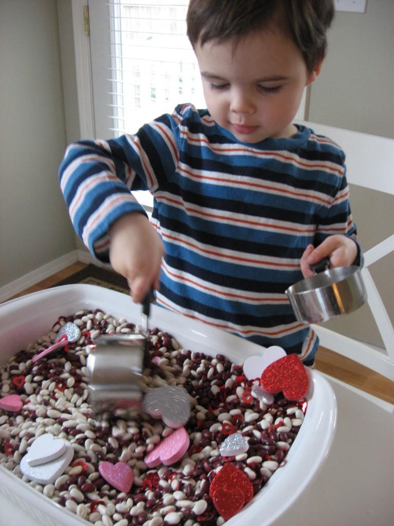 Valentine's Sensory Tub