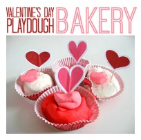 valentine's day play dough for preschool