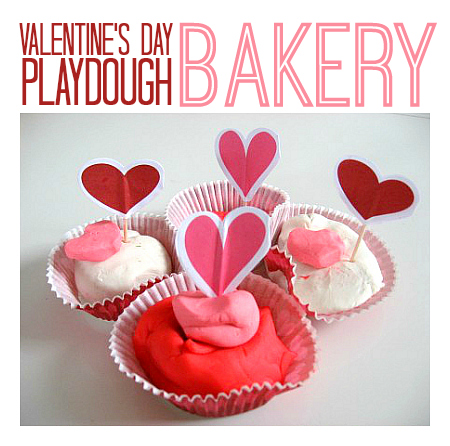 valentine's day playdough activity