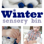 Easy Winter Sensory Bin