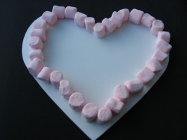 Marshmallow Valentine's Treat