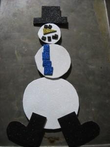 Snowman Kids Craft