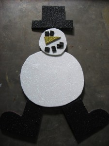 Snowman Kids Craft
