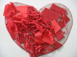 Heart Collage Craft