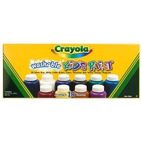 crayola kids paint