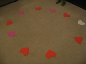 'Preschool Movement Game' from the web at 'https://www.notimeforflashcards.com/wp-content/uploads/2010/02/musical-hearts-game-007-300x225.jpg'