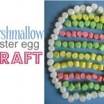 Marshmallow Easter Egg