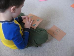 Preschool Number Match Game