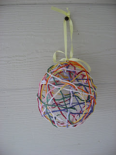 Best Easter Egg Crafts - Yarn Egg