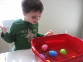 Preschool Science – Sink or Float?