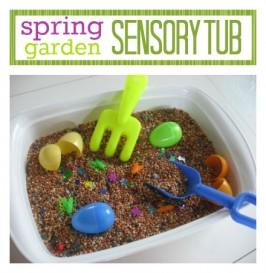 Spring Sensory Tub !