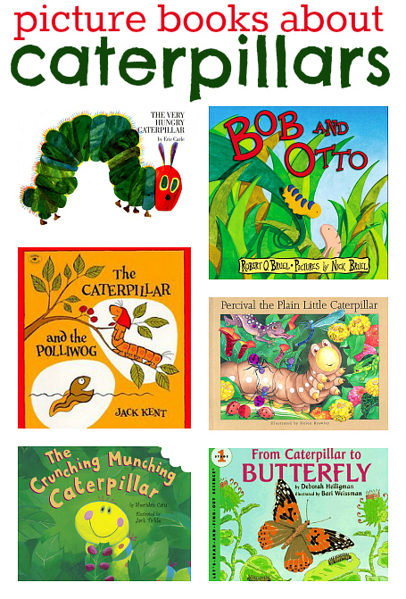 ctaerpillar books for kids
