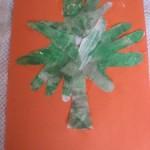 Hand Print Shamrock