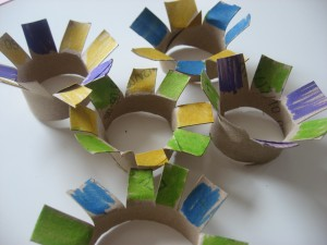 Toilet Roll Flower Craft