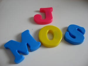 DIY Monogramed Napkin Rings