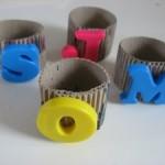 Monogramed Napkin Rings