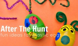 7 Ways to Recycle Plastic Easter Eggs!