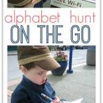 Learn On The Go Letter Hunt