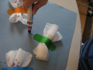 Bandaid Butterfly Craft