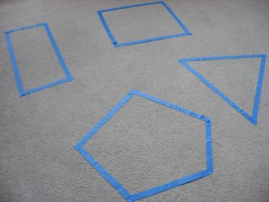 Preschool Shape Game
