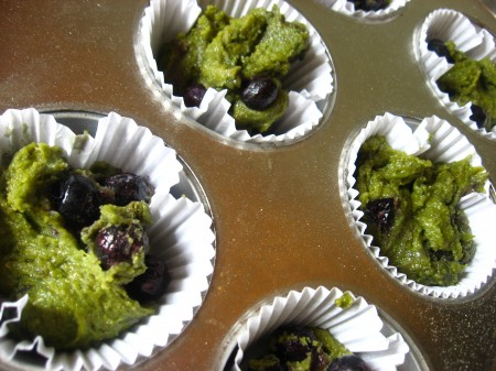 earth day muffins