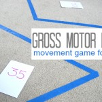 gross motor math game for preschool