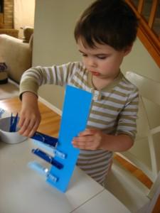 preschool patterning lesson