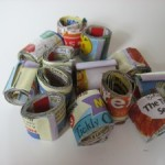 Recycled Book Order Beads!