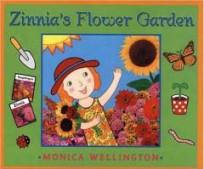 zinnias flower garden