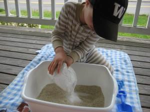 Beach Sensory Tub