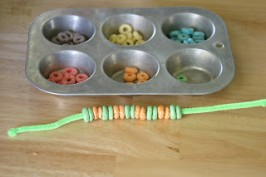 Cereal Bracelet Craft