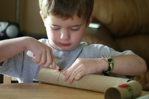 Kids musical insrument craft