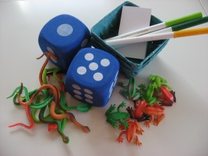 Preschool Dice Game