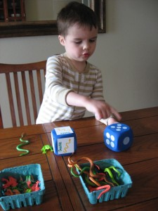 Preschool Dice Game