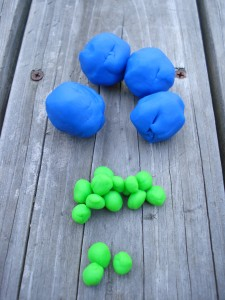 Play-doh Earths