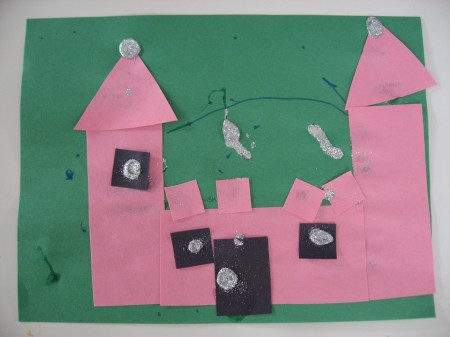 Kids Castle Craft