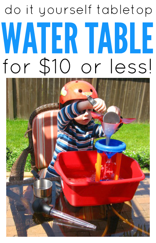 cheap water table for kids