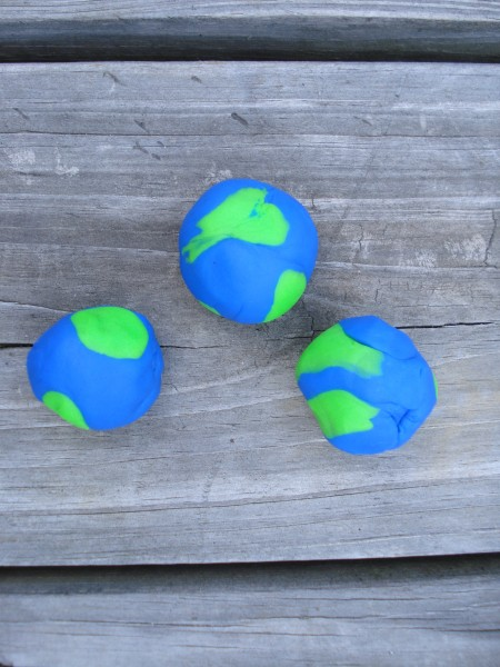 playdoh earth