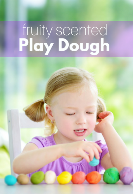 Smelly Play dough recipe for preschool