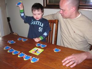 Preschool math lesson