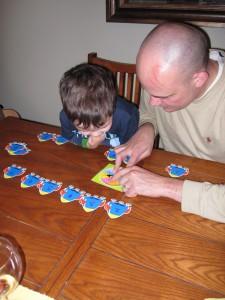 Preschool math game