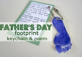 Father's Day Key Chain and Poem
