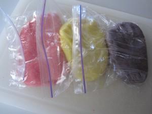 fruity scented playdough
